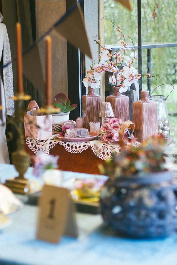 Powder Rose Wedding Decor