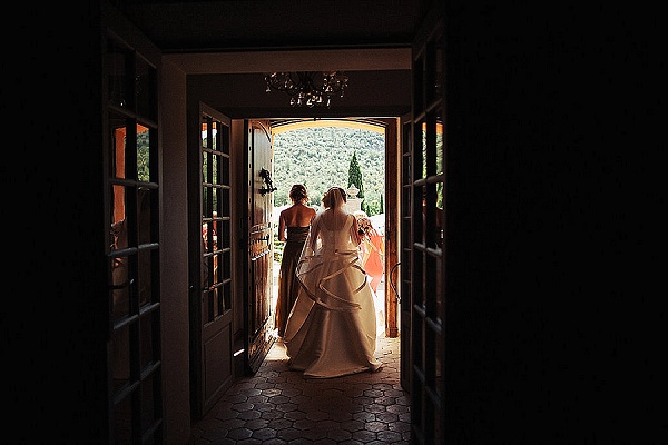 Real wedding in Provence