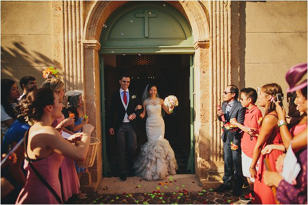 church wedding in Provence