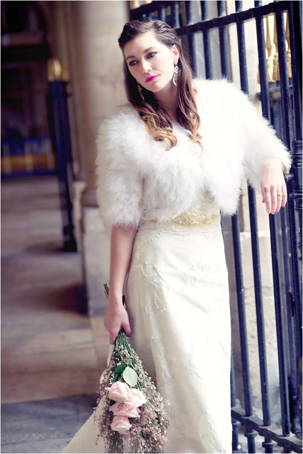 destination bridal look Paris