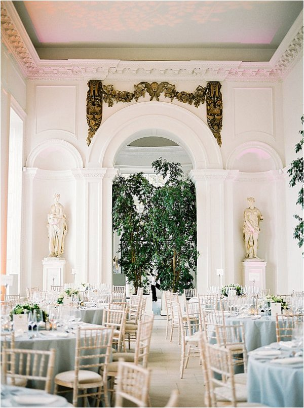 intimate wedding venue styling
