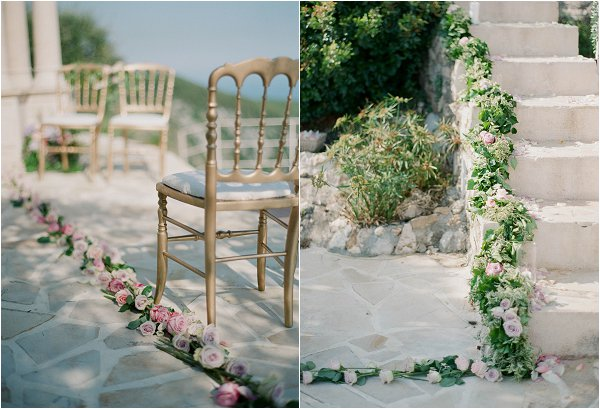 luxury wedding floral decorations