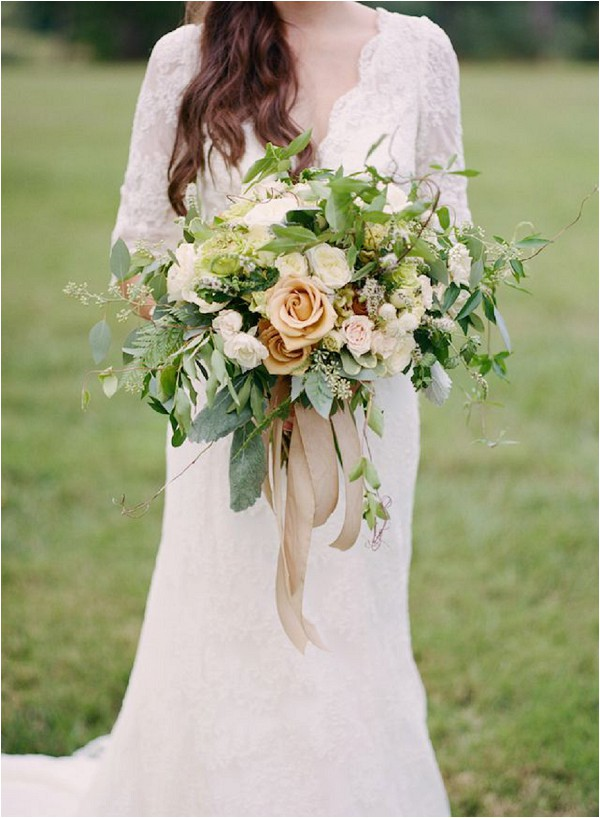 oversize bridal bouquet - photographed by Kacie Lych