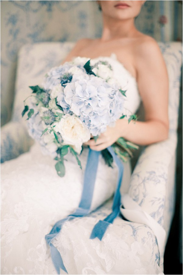 pale blue bridal bouquet - Anastasiya Belik Photography
