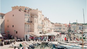pretty harbour of St Tropez