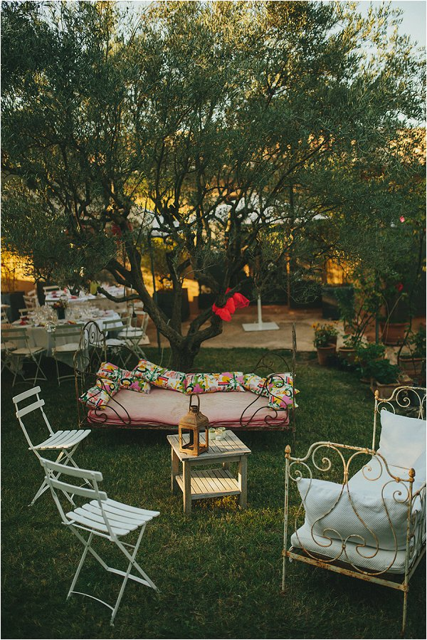 provence at-home wedding