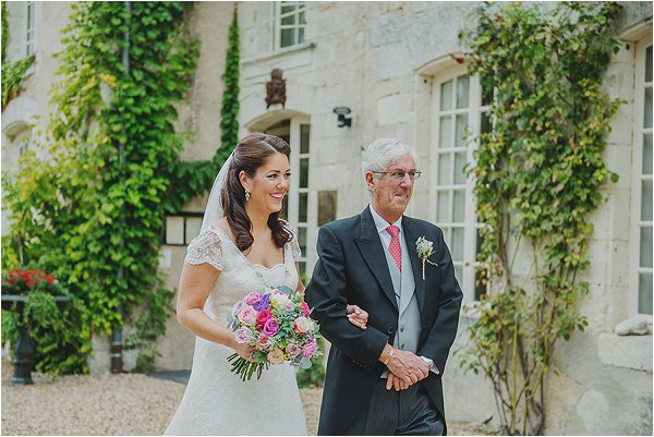 real wedding in France