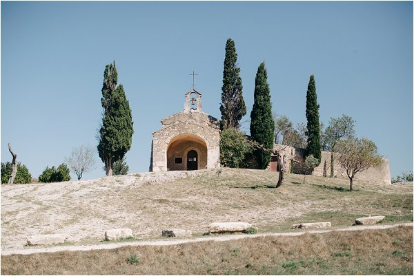 roman chapel in Provence