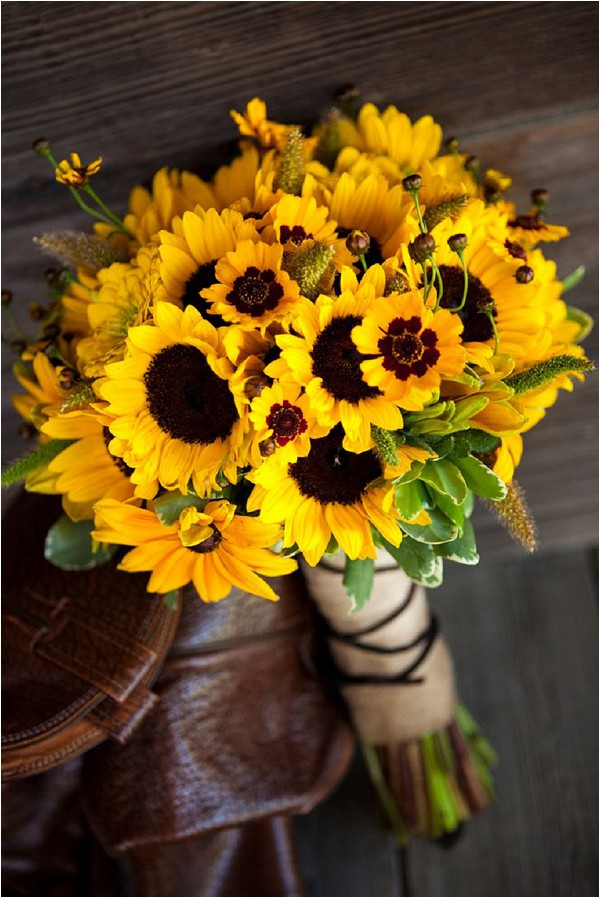 sunflower bouquet - Chyna Darner