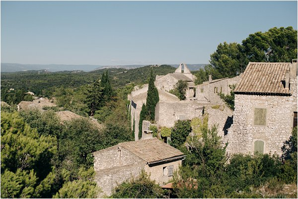 village in Alpilles Provence