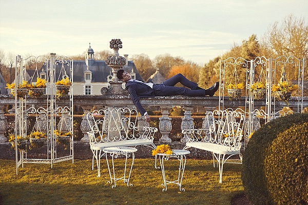 Beautiful french garden furniture for wedding