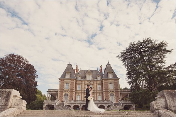 Chateau wedding Bouffemont France