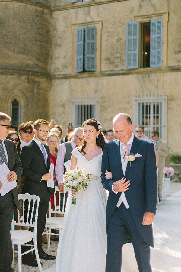 Chic chateau wedding in Provence
