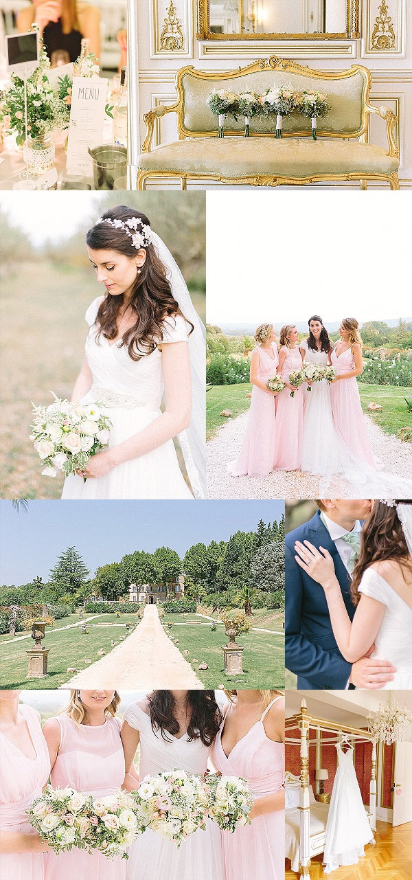 Classically Romantic Chateau de Robernier Wedding Snapshot