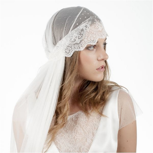 French Bridal Accessories_ juliet cap