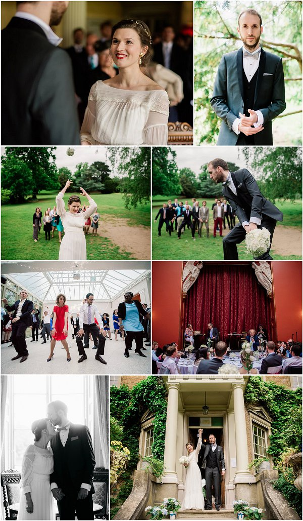 French Style Wedding in England Snapshot