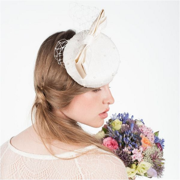 French bridal fascinator