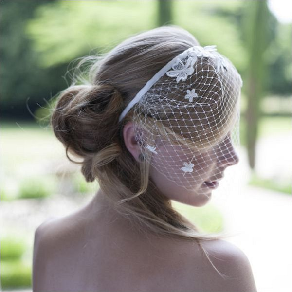 French bridal headband