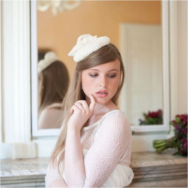 French bridal petit cap