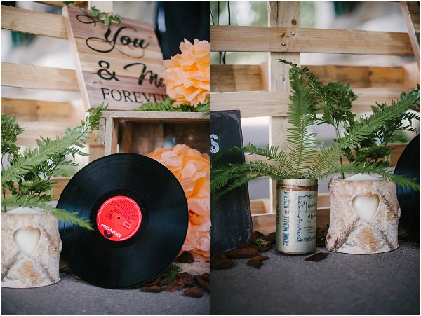 Rock n roll wedding decorations