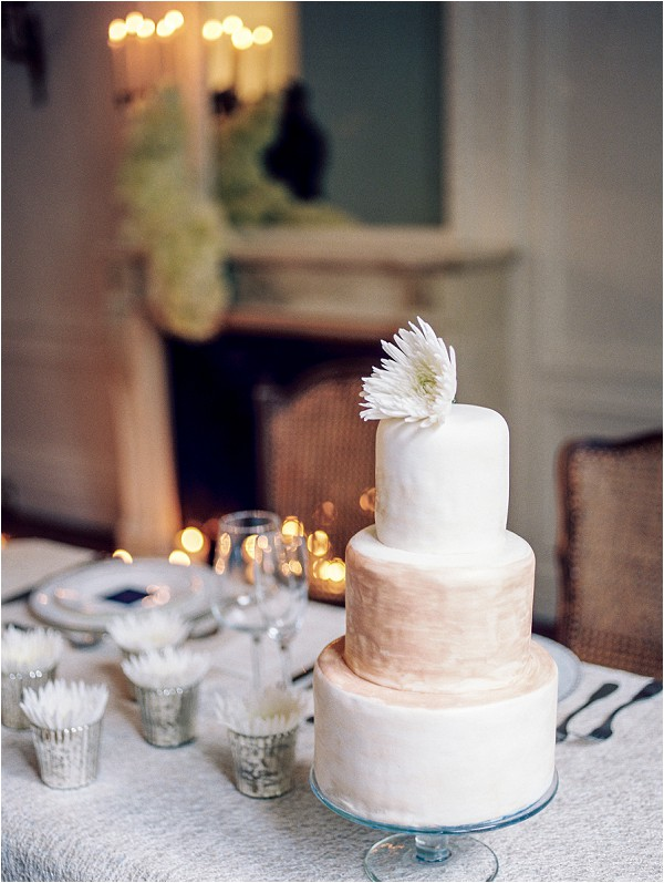 chic eloping cake Paris