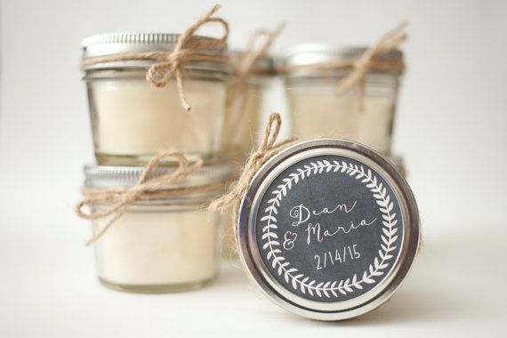 soy candle wedding favors