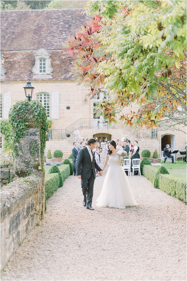 Autumn Chateau wedding Dordogne
