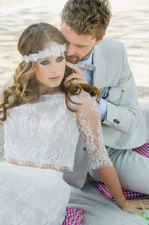 Bohemian Wedding headpiece