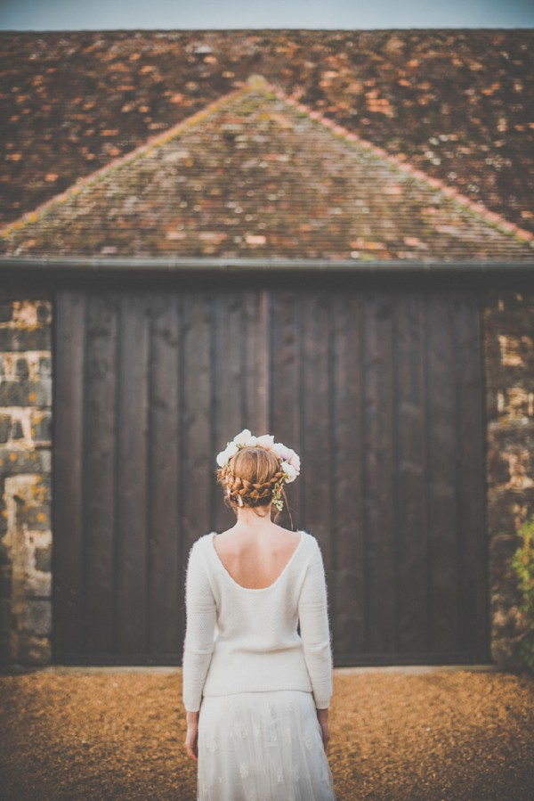 Braid wedding updo