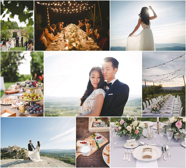 DIY Wedding in Provence Snapshot