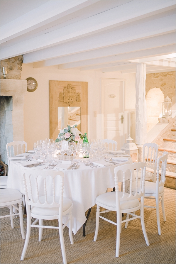 French gastronomique wedding feast
