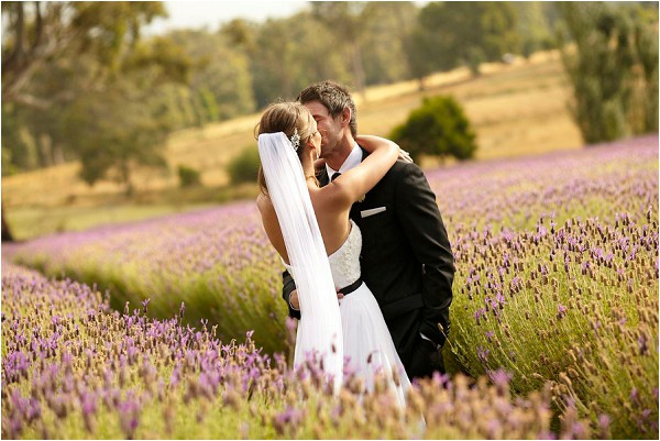 French lavender inspired wedding