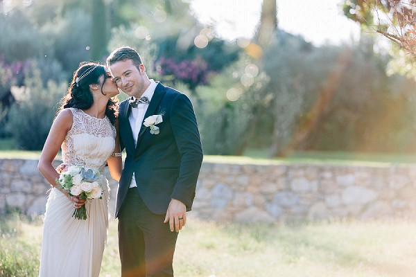 Golden Hour Bride And Groom Portraits