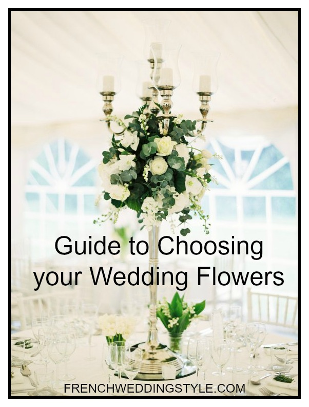Guide to choosing your wedding flowers