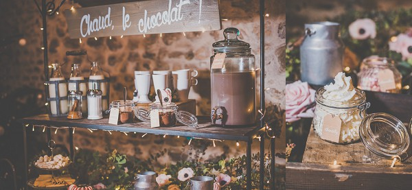 Hot Chocolate Wedding Stand