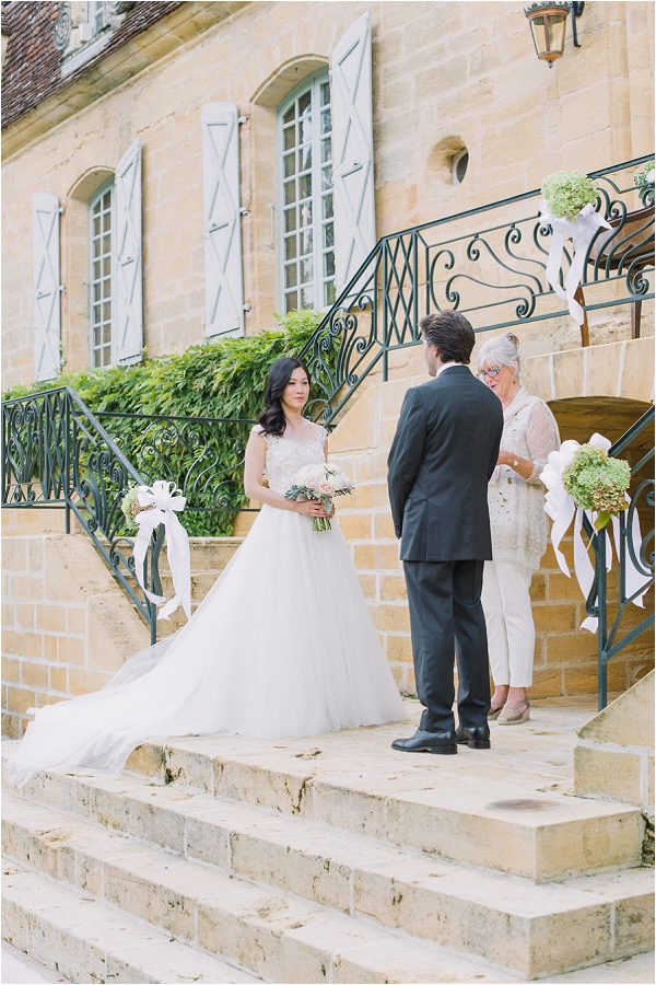 Intimate Chateau wedding