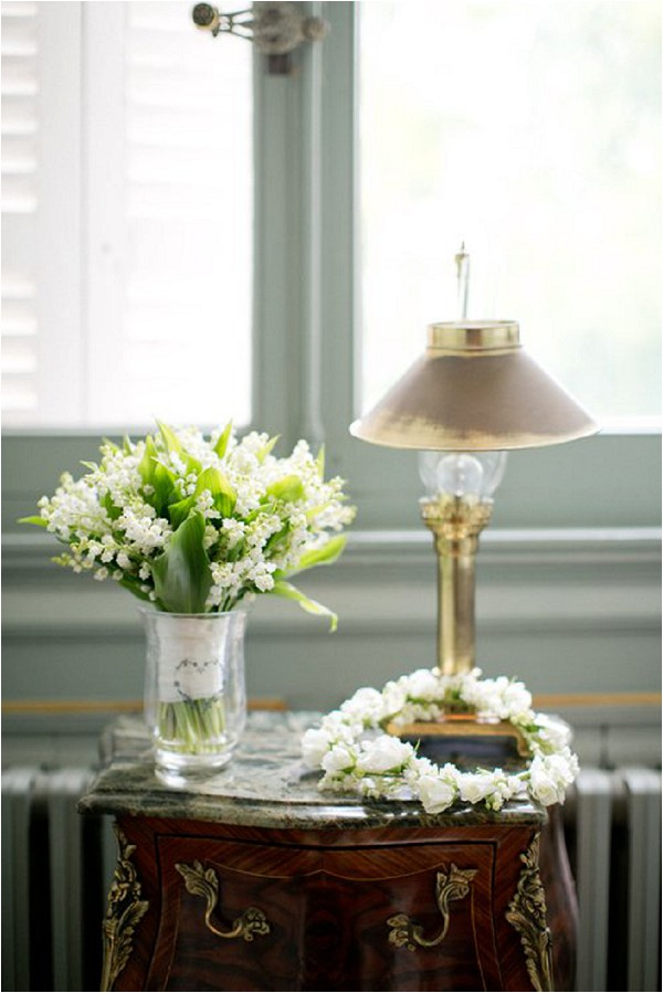 Lily of the valley wedding flowers