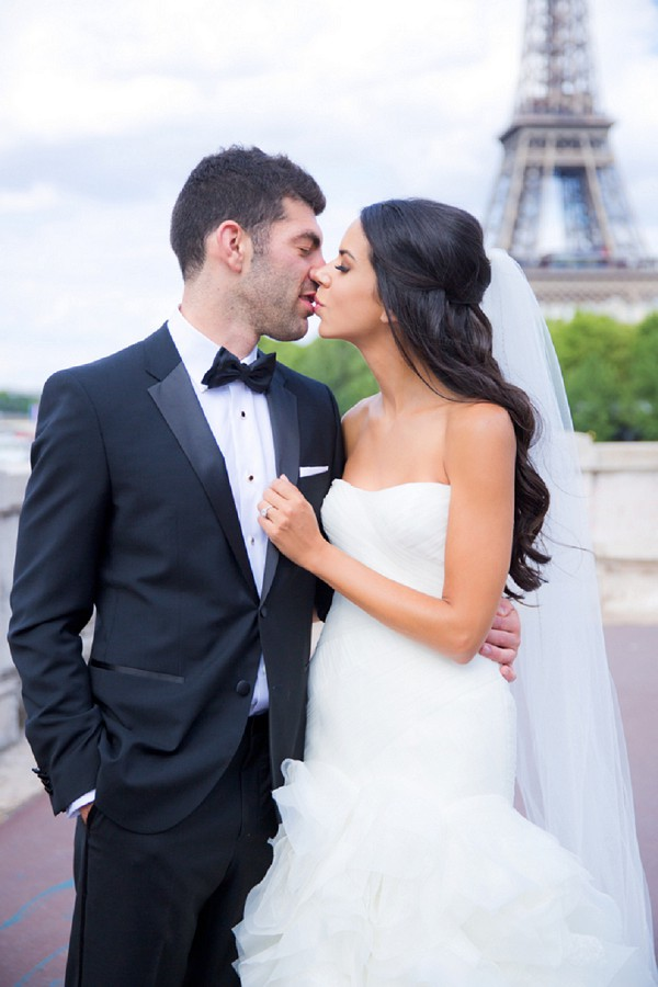 Luxury Destination Wedding in Paris
