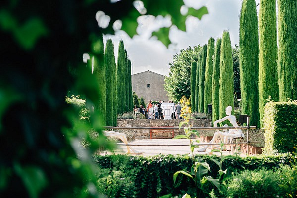 Provencal countryside wedding venue