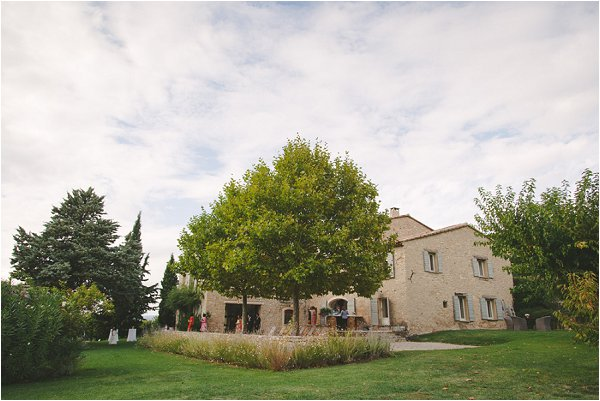Stunning stone wedding venue in Bonnieux Provence