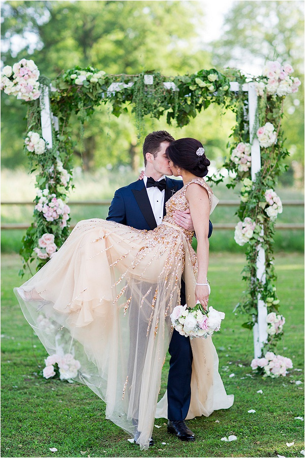 dreamy fairytale wedding in France