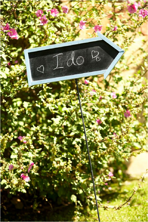 i do wedding sign