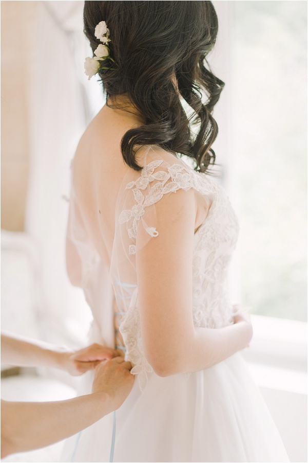 lace couture wedding gown
