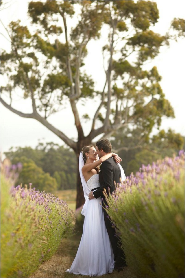 French Inspired Wedding In Lavender Fields