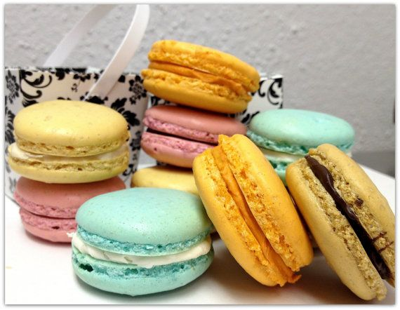 macarons on Etsy