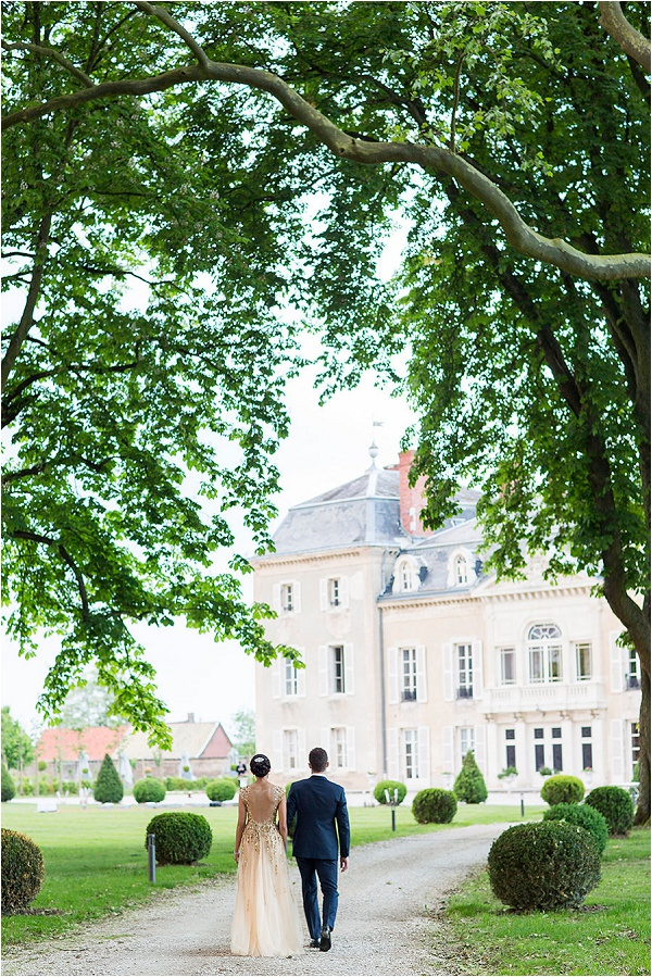 wedding at Château De Varennes