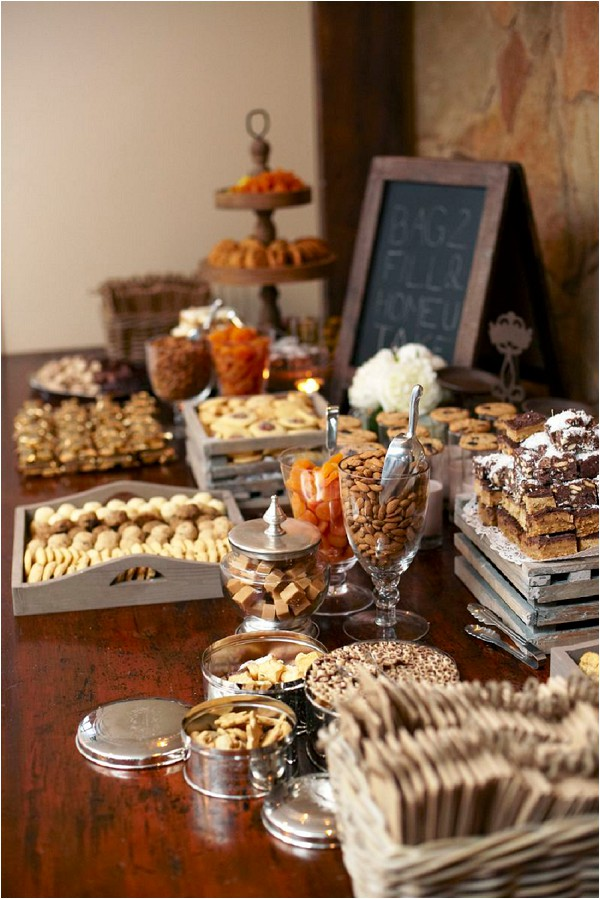 wedding snack bar