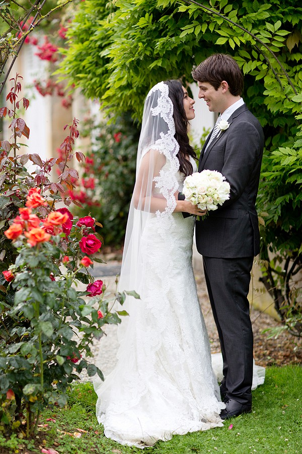 Cathedral Length Lace edged Veil