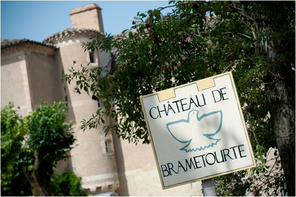 Chateau de Brametourte wedding venue