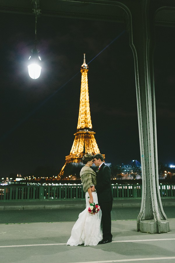 December Wedding in the City of Love